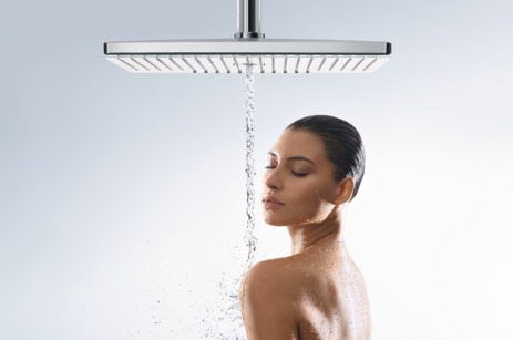 overhead shower 460 3jet with shower arm