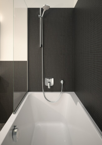 Ona natural tile tapware installation