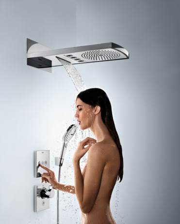 Overhead shower 240 3jet without lighting