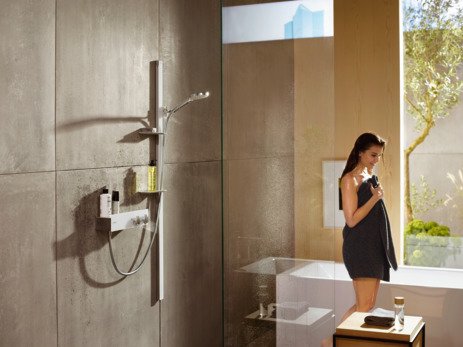 Thermostatic shower mixer 350 for exposed installation