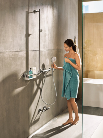 Shower set 120 3jet with shower bar 110 cm right