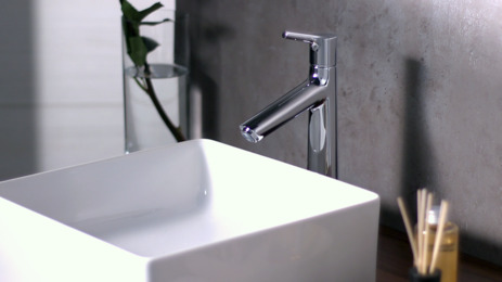 Single lever basin mixer 190 with pop-up waste set