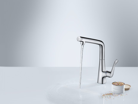 Single lever kitchen mixer 320, 1jet