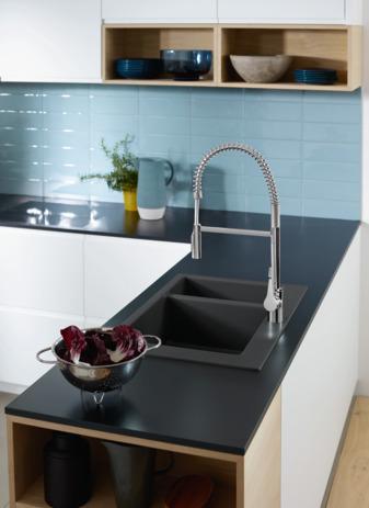 hansgrohe mitigeurs de cuisine cento cento xxl mitigeur cuisine semi pro avec douchette. Black Bedroom Furniture Sets. Home Design Ideas