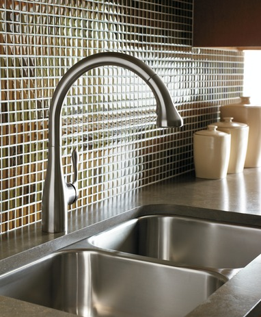 Allegro E Gourmet 2-Spray SemiPro Kitchen Faucet, Pull-Down
