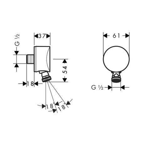 Articledetail Fixfit S Wall Outlet 27453000 together with Item description likewise 8 besides Productdetail also Item description. on bathroom tubs and showers outlet