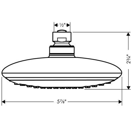 Raindance E 150 AIR 1-Jet Showerhead