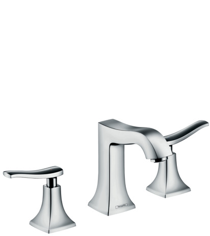 3-hole basin mixer 100 with pop-up waste