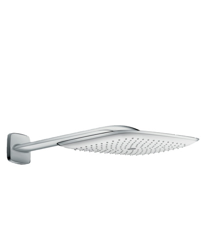 PuraVida 400 Air 1jet overhead shower with shower arm 390 mm