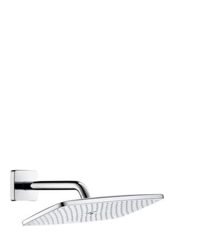 Overhead shower 360 1jet with shower arm 24 cm