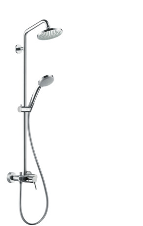Showerpipe 160 1jet with single lever mixer