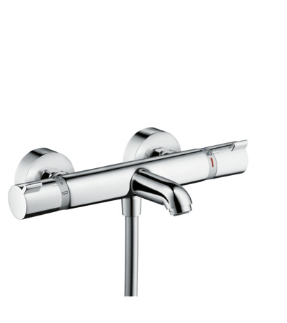 Ecostat Comfort thermostatic bath mixer for exposed installation
