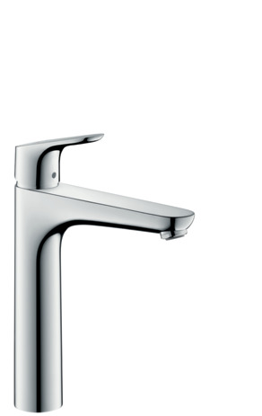 Single lever basin mixer 190 without waste