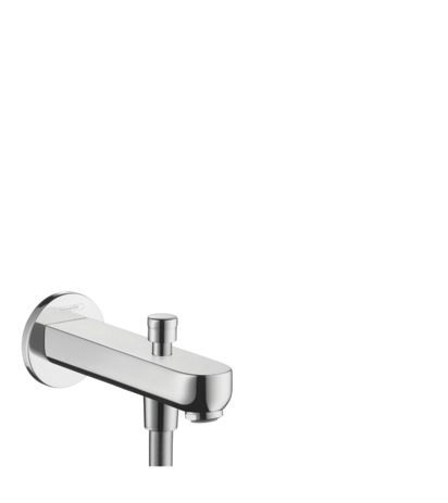 Bath spout 15.2 cm with diverter valve