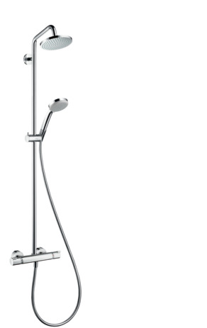 Showerpipe 160 1jet with thermostat