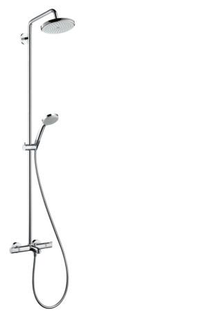 hansgrohe showerpipes croma 1 type de jet 27223000. Black Bedroom Furniture Sets. Home Design Ideas