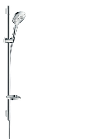 Shower set 120 3jet with shower bar 90 cm and soap dish