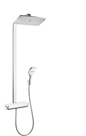 Showerpipe 360 1jet mit Ecostat Select Thermostat