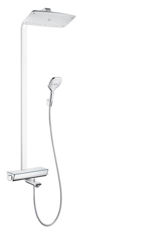 Showerpipe 360 1jet with bath thermostat
