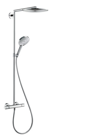 Showerpipe Raindance Select S 300 1jet,   Bras de douche 450mm