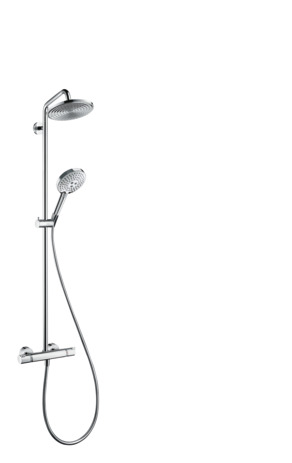 showerpipe 240 1jet EcoSmart with thermostat