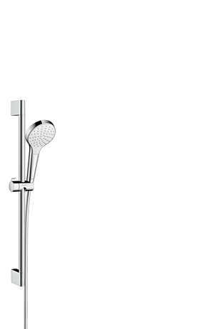 Shower set 1jet with shower bar 65 cm