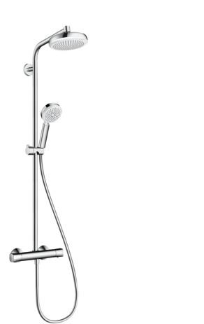 Brandneu hansgrohe Shower pipes: Crometta 100, 1 spray mode, 27265400 YZ39