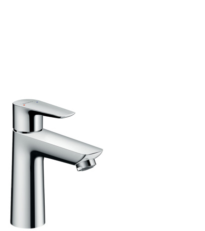 Single lever basin mixer 110 with pop-up waste set