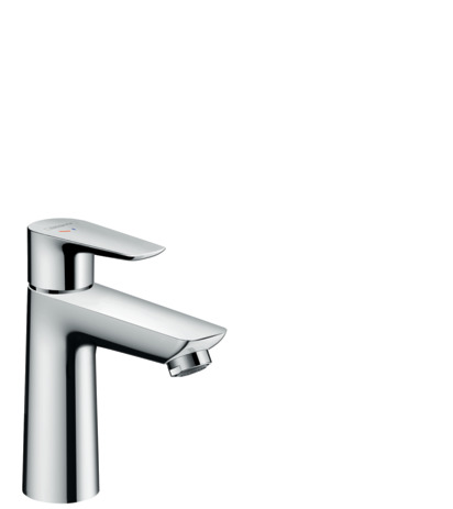 Single lever basin mixer 110 CoolStart with pop-up waste set