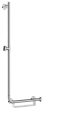 hansgrohe brausesets unica brausestange comfort 110 cm links 26403400. Black Bedroom Furniture Sets. Home Design Ideas