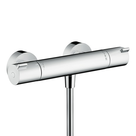 Ecostat 1001 CL thermostatic shower mixer for exposed installation