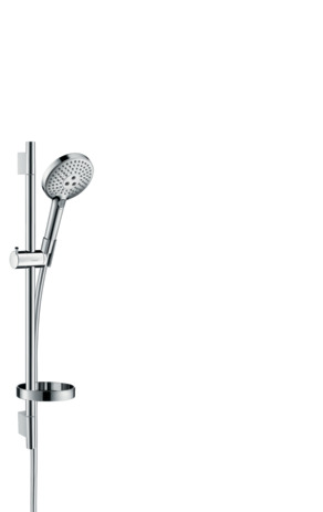 Shower set 120 3jet EcoSmart 9 l/min with shower bar 65 cm and soap dish