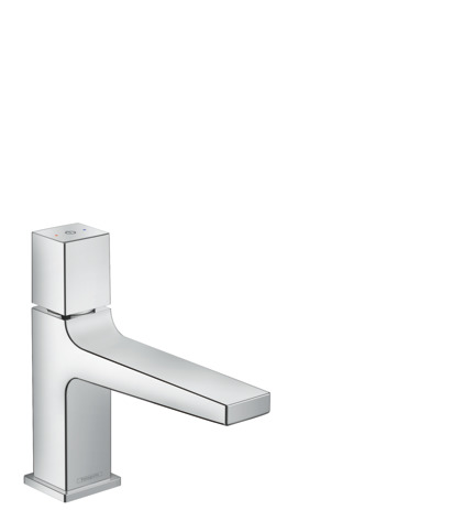 Basin mixer 100 Select with push-open waste set