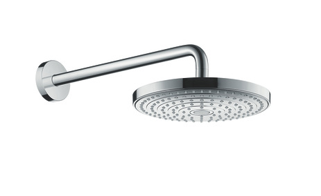 Raindance Select S 240 2jet overhead shower with shower arm 390 mm