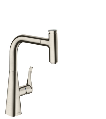 Single lever kitchen mixer 240 with pull-out spout