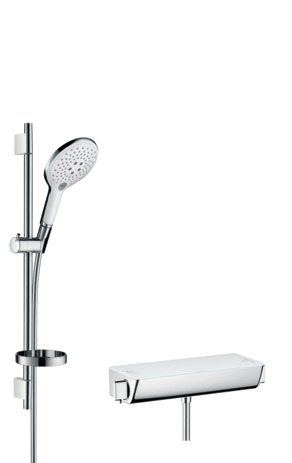 Ecostat Select Combi Set 0.65 m with Raindance Select S 150 3jet hand shower