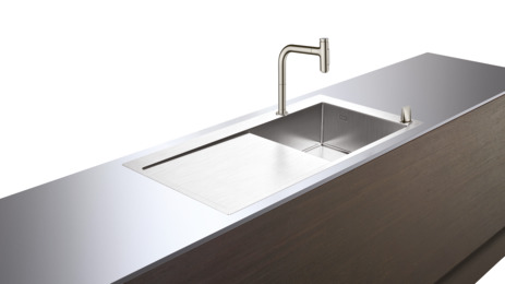 C71-F450-07 Sink combination 450 with drainer