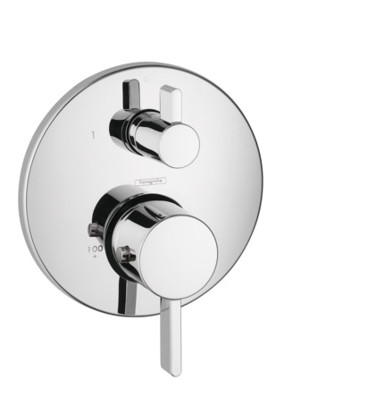 S Thermostatic Trim with Volume Control