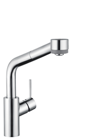 Talis S 2-Spray SemiArc Kitchen Faucet, Pull-Out