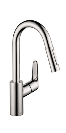 Focus 2-Spray HighArc Prep Kitchen Faucet, Pull-Down