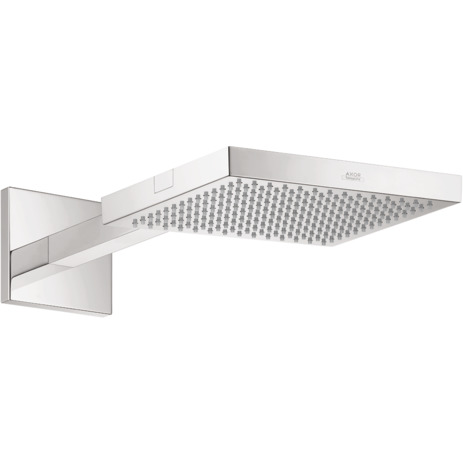 Axor ShowerCollection Wall-Mounted Showerhead Trim with Showerarm