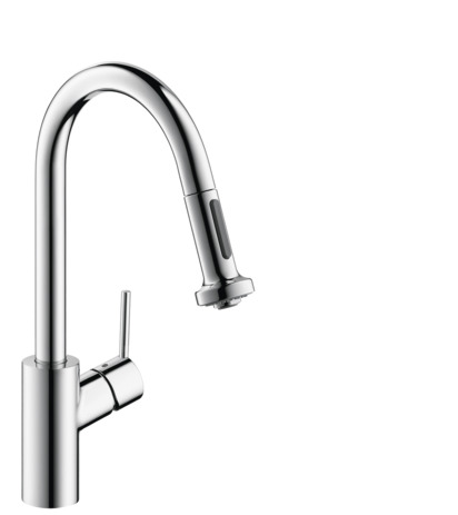 Talis S 2-Spray HighArc Kitchen Faucet, Pull-Down, 1.75 GPM