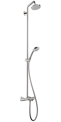 Croma Green Tub/Shower Showerpipe, 2.0 GPM