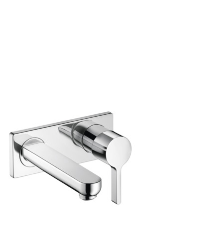 Metris S Wall-Mounted Single-Handle Faucet Trim