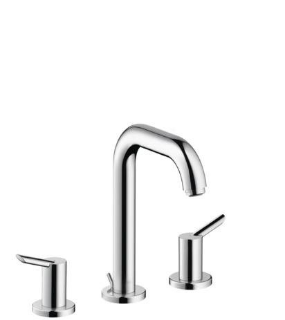 focus s washbasin faucets two handle chrome 31730001. Black Bedroom Furniture Sets. Home Design Ideas
