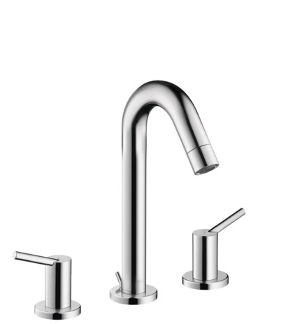 Widespread Faucet 150 with Pop-Up Drain, 1.2 GPM