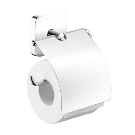 PuraVida Toilet Paper Holder with Cover