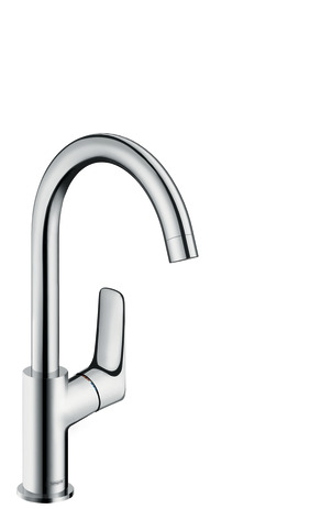 Single-Hole Faucet 210 with Swivel Spout and Pop-Up Drain, 1.2 GPM