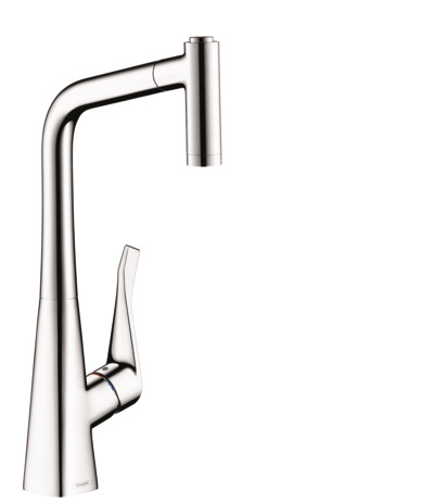 Metris 2-Spray Prep Kitchen Faucet, Pull-Out, 1.75 GPM