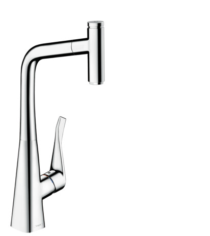 Metris Select 1-Spray Prep Kitchen Faucet, Pull-Out, 1.75 GPM